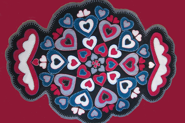Danielle Potvin Dames de coeur copy